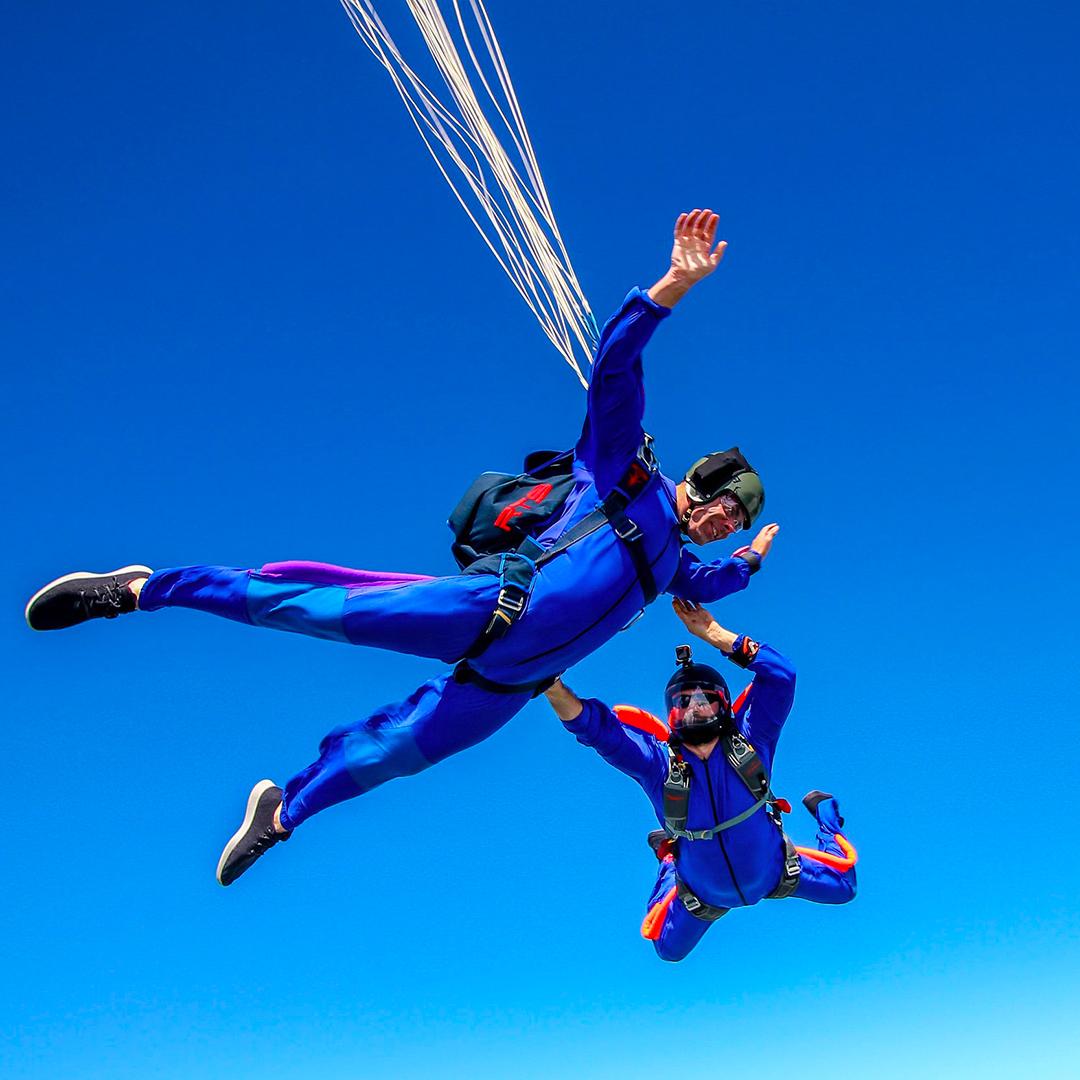 cerp parachutisme saut initiation